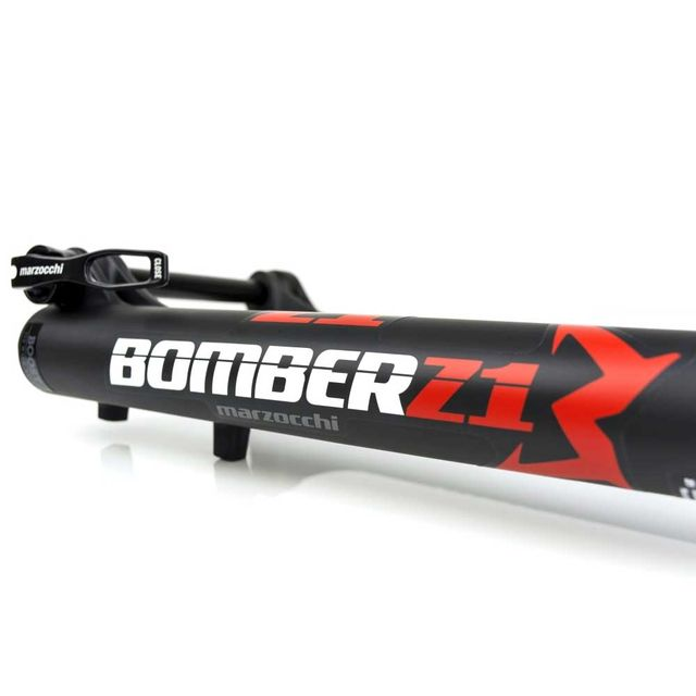 Marzocchi Bomber Z1 160 29 musta 44 mm offset